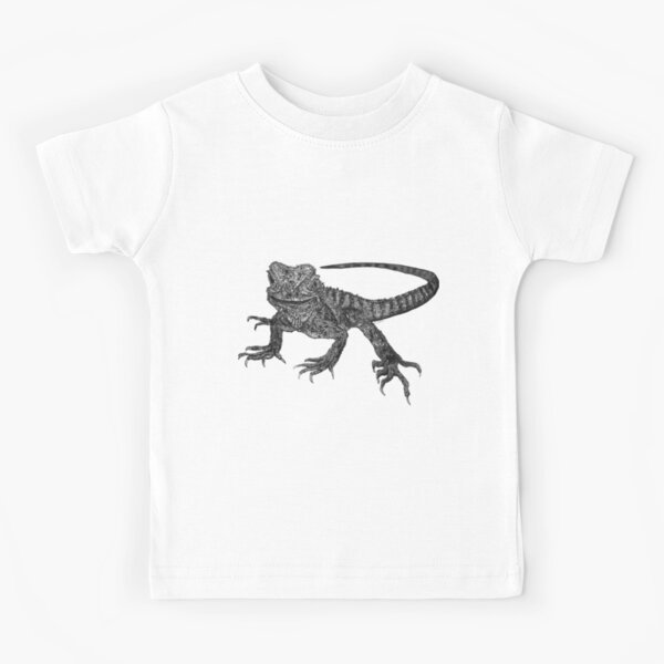 Kenneth the Water Dragon Kids T-Shirt