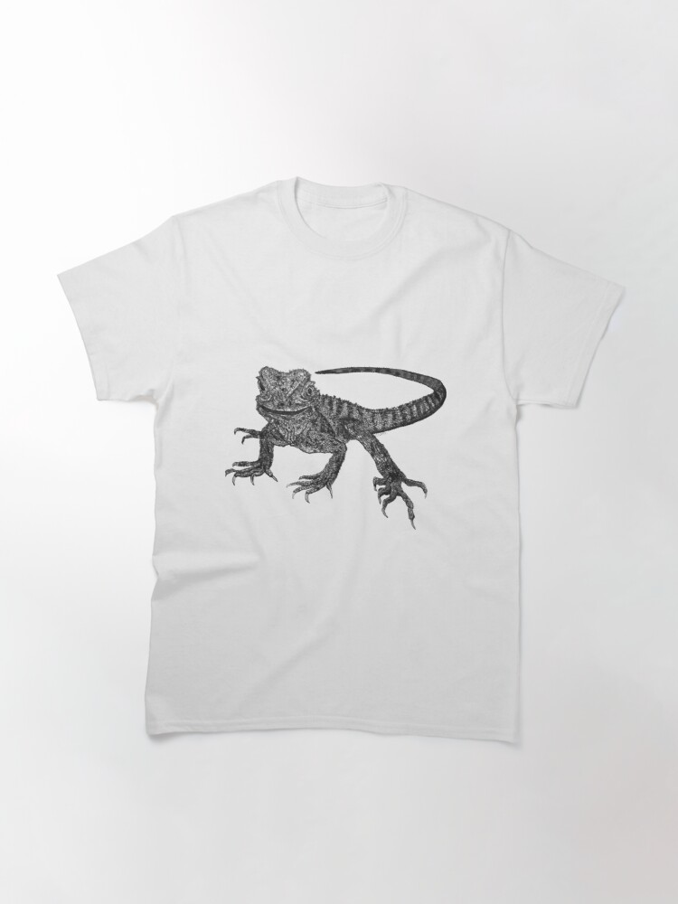 Alternate view of Kenneth the Water Dragon Classic T-Shirt