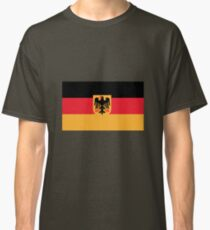 Flag of Germany with Coat of Arms Classic T-Shirt