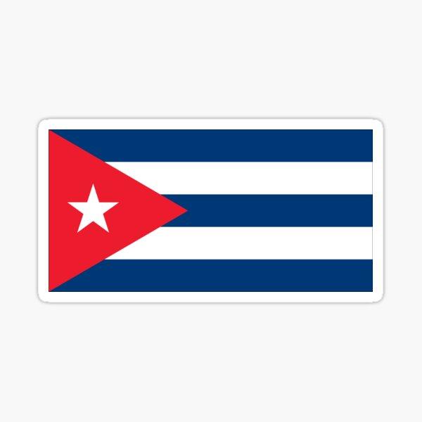 Flag of Cuba Sticker
