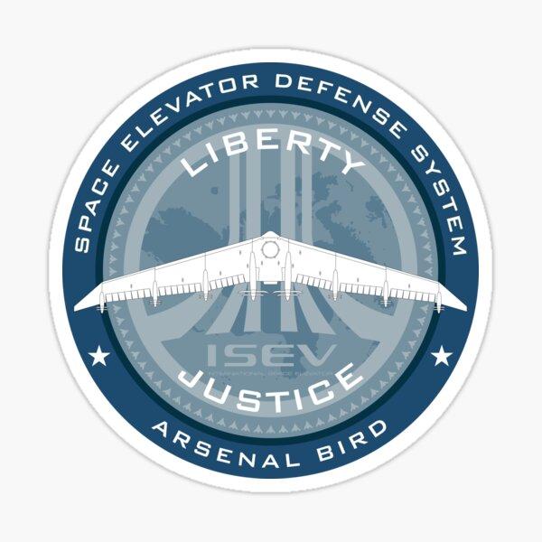 Ace Combat Arsenal Bird Badge Sticker