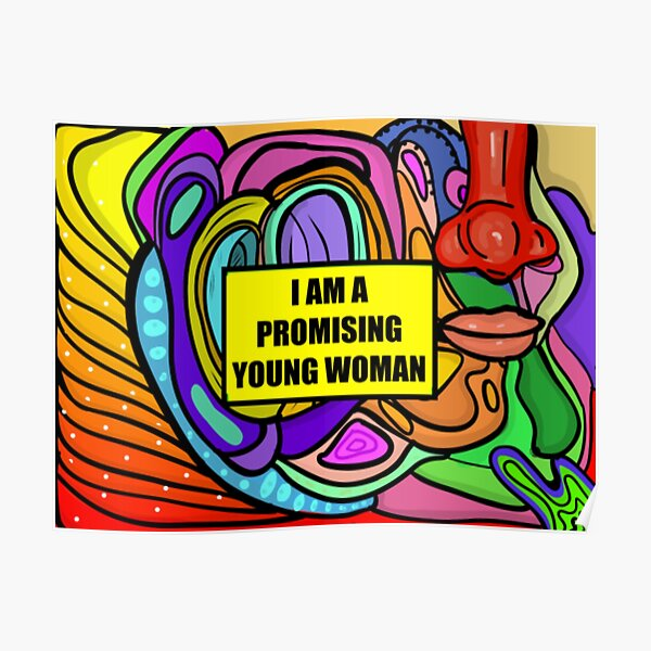 I Am A Promising Young Woman Poster