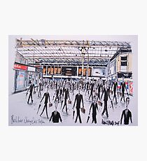 Charing Cross Railway Station, London England Photographic Print