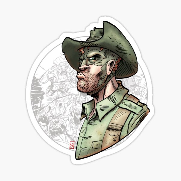 The Soldier Legacy #1 Sticker