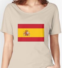 Flag of Spain Women's Relaxed Fit T-Shirt
