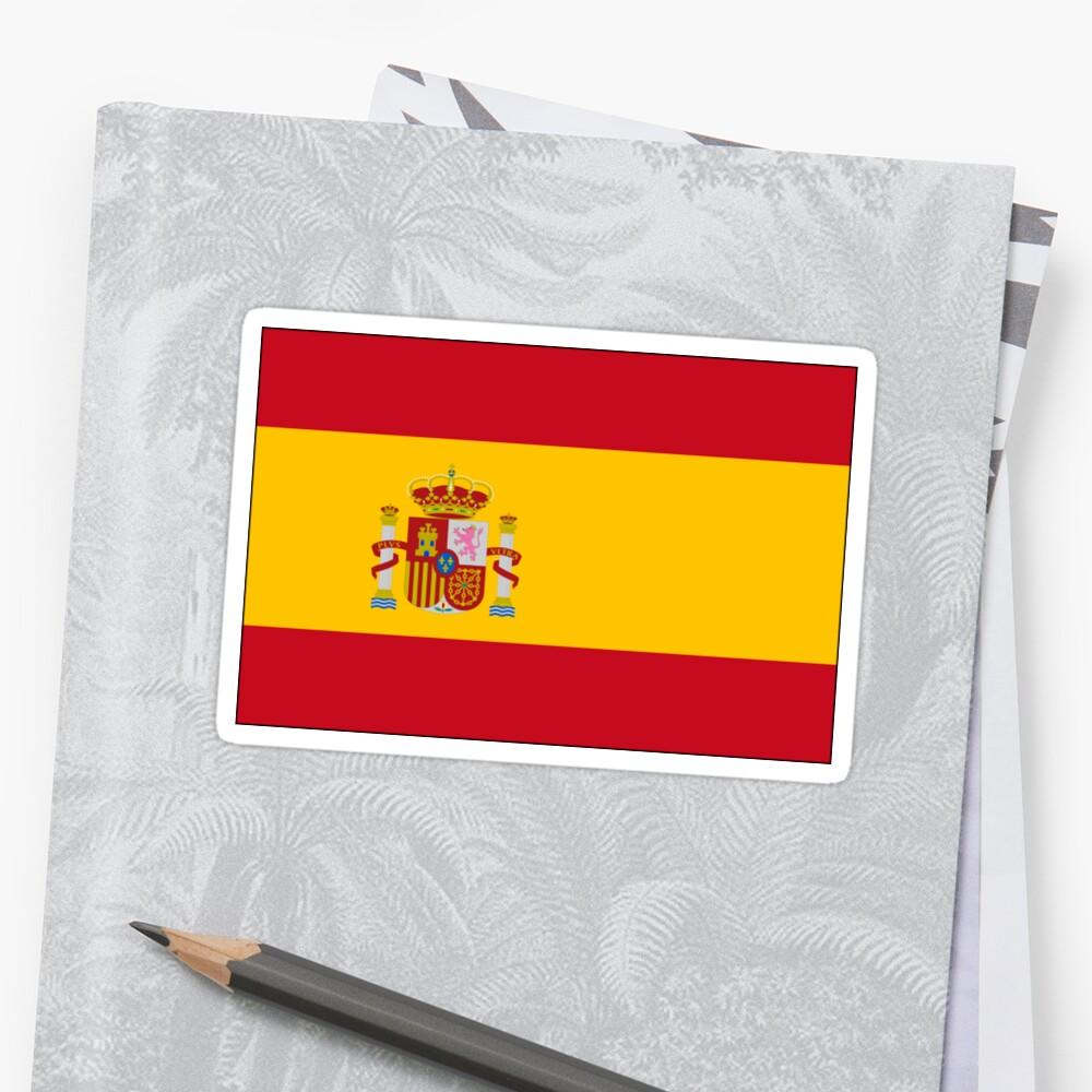 Flag of Spain Pegatina