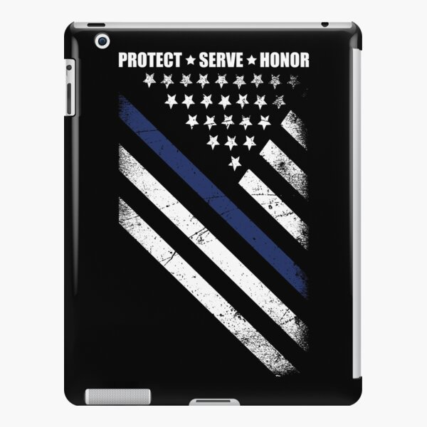The thin blue line iPad Snap Case
