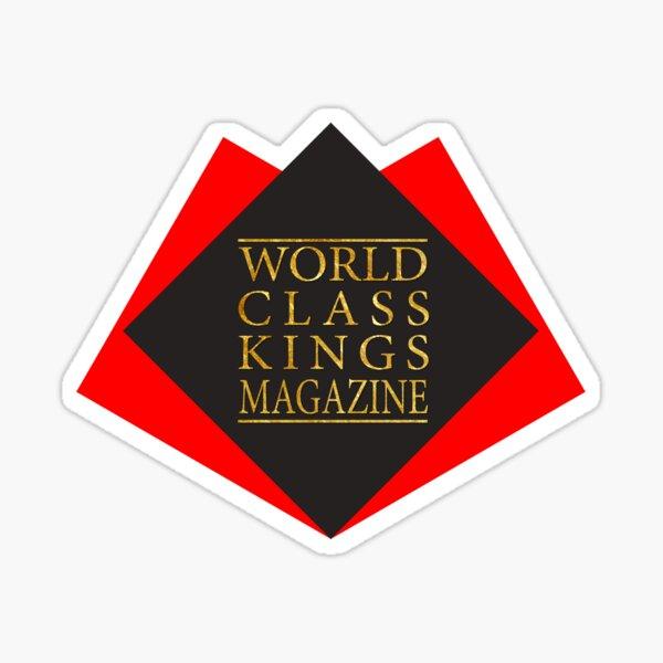 World Class Brand Logo with World Class Kings Magazine Text Sticker