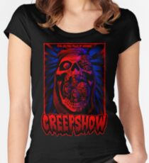 Five Jolting Tales of Horror! Women's Fitted Scoop T-Shirt