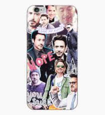Robert Downey Jr. fangirl edit tumblr collage iPhone Case