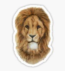 Lion portrait Sticker