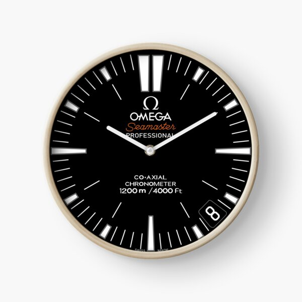 Omega Seamaster Ploprof clock Clock
