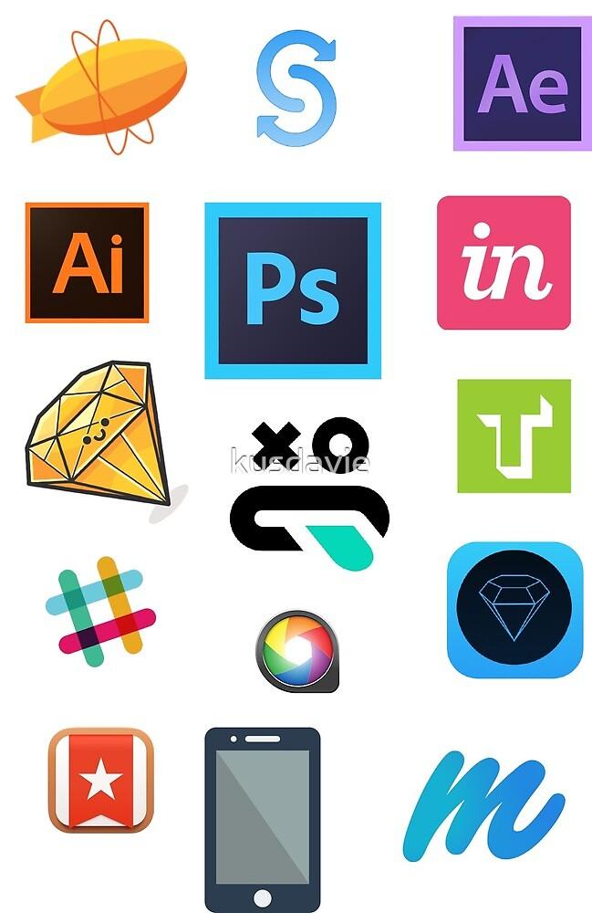 UI design stack by kusdavie