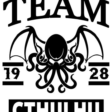 Team Cthulhu by Tee-Frenzy