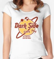 Dark Side Cafe Women's Fitted Scoop T-Shirt