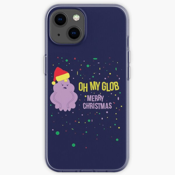 Adventure Time LSP Oh My Glob Christmas iPhone Soft Case
