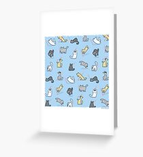 Cats vs. Laserpointers Greeting Card