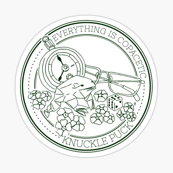 Knuckle Puck - Copacetic Sticker Sticker