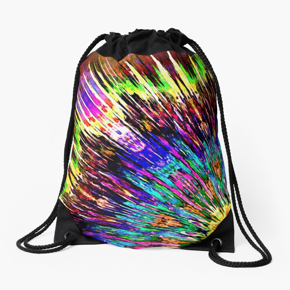 Abstract Array of Color Drawstring Bag