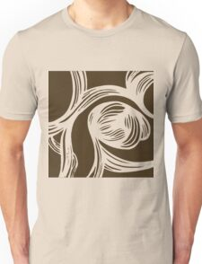 flower #1 in mocha Unisex T-Shirt