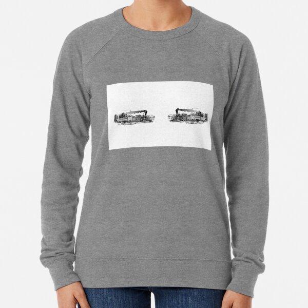 Locomotive passenger train Lightweight Sweatshirt