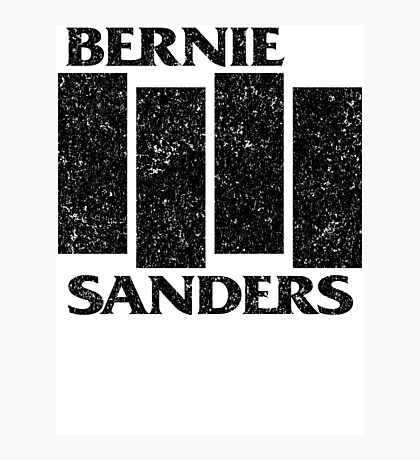 Bernie Flag  Photographic Print