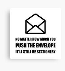 Envelope Stationery Canvas Print