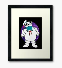 Mr Stay puft marshmallow man Framed Print