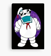 Mr Stay puft marshmallow man Canvas Print