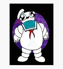 Mr Stay puft marshmallow man Photographic Print