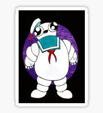 Mr Stay puft marshmallow man Sticker