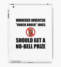 Knock Knock Joke No Bell iPad Case/Skin