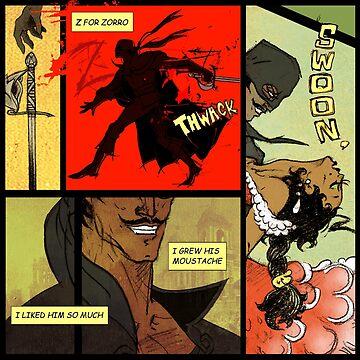Mark of Zorro - comic by EnjoyRiot