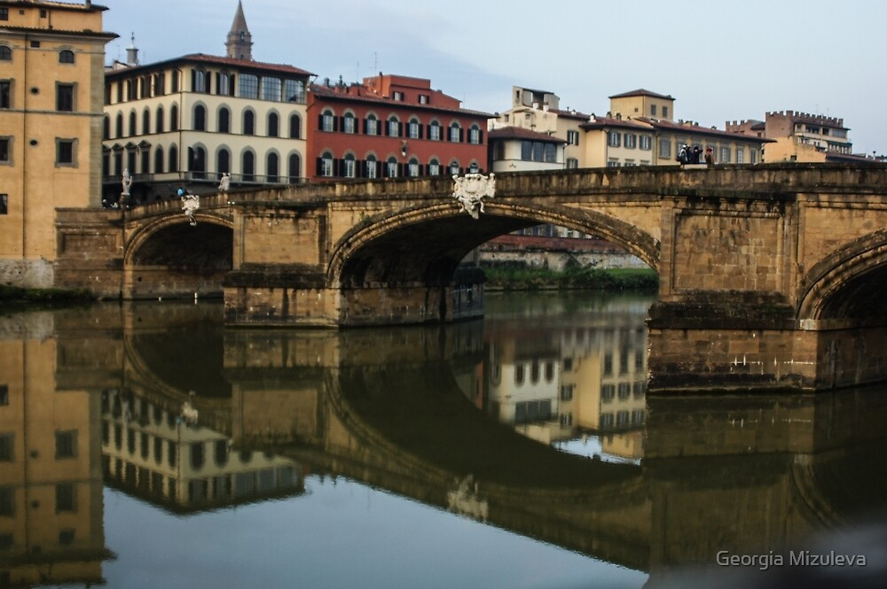 Postcard from Florence  by Georgia Mizuleva