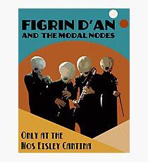 Mos Eisley Cantina Band Photographic Print