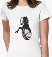 Iron Horse Womens Fitted T-Shirt