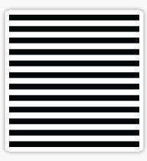 Slim black stripes Sticker