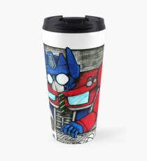 Transformers in the Office Travel Mug