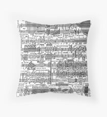 Death Waltz Throw Pillow