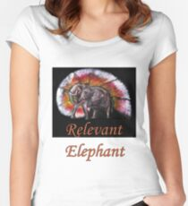 Wild Eelephant Women's Fitted Scoop T-Shirt