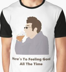 Seinfeld Kramer Feel Good Comedy Fan Art Unofficial Jerry Larry David Funny Graphic T-Shirt