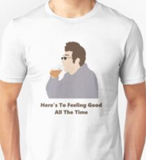 Seinfeld Kramer Feel Good Comedy Fan Art Unofficial Jerry Larry David Funny T-Shirt