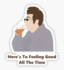 Seinfeld Kramer Feel Good Comedy Fan Art Unofficial Jerry Larry David Funny Sticker