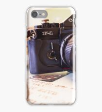 Canon F1-N for Tea iPhone Case/Skin