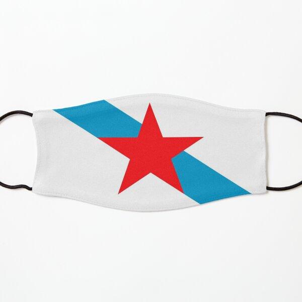 Bandeira Nacionalista Estreleira Galiza Mascarilla para niños