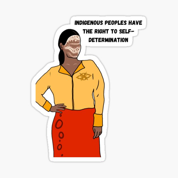 right to self determination Sticker