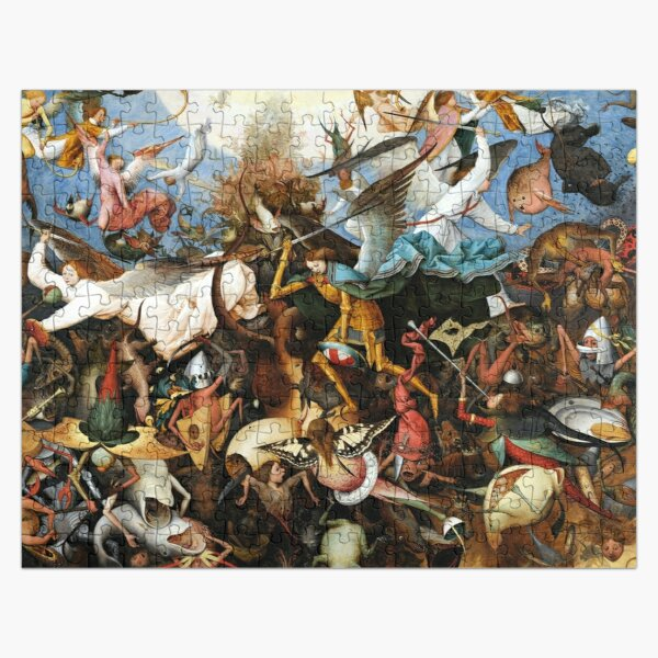 The Fall Of The Rebel Angels (1562) Pieter Bruegel The Elder Jigsaw Painting Jigsaw Puzzle
