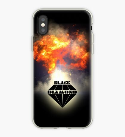 Black Diamond logo iPhone Case