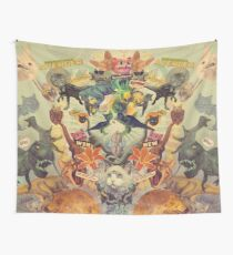 Meowosaurus Wall Tapestry