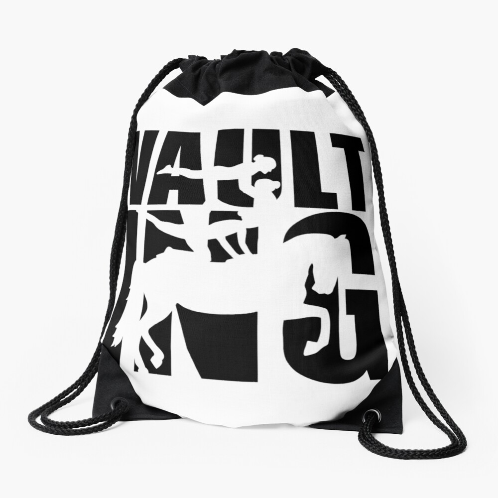 Vaulting Drawstring Bag